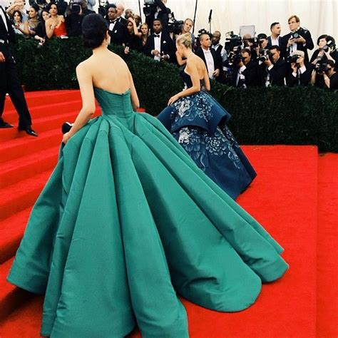 Lucky Liu At The Met Costume Gala With Zac Posen And 35 Carats Of Yellow Sapphires To Left by Best 25 Zac Posen Wedding Gowns Ideas On Zac