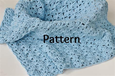 shell pattern crochet video baby blanket crocheting pattern in shell stitch baby photo