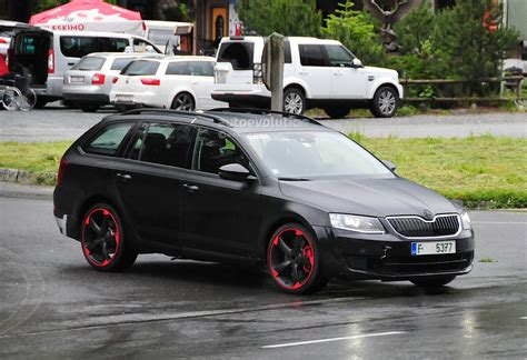K Hlboxen F Rs Auto by Skoda Octavia Vrs With 280 Hp Spied For The