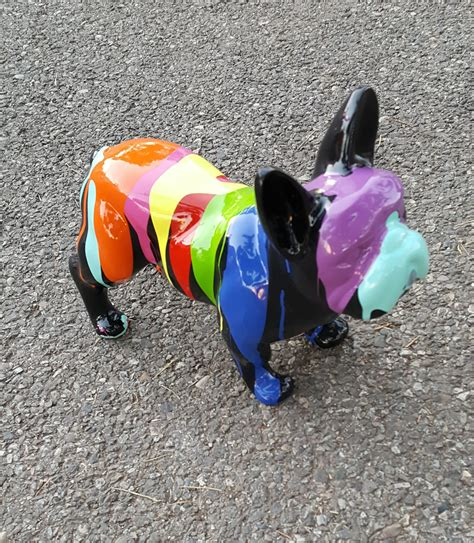 Boneka Anjing Buldog Mini 20cm bulldog fran 231 ais mini trash 20 x 30 cm homeparc fr animaux en r 233 sine