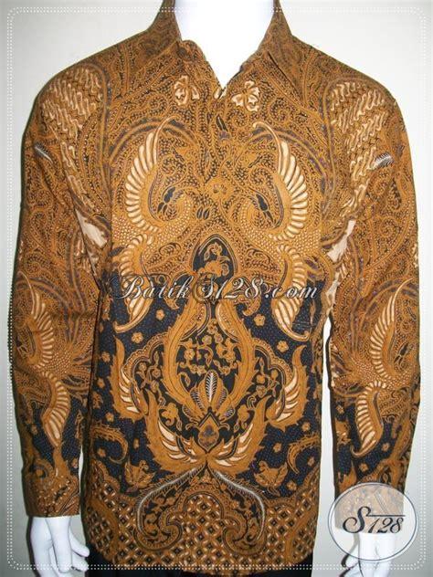 Kemeja Batik Lengan Panjang Lb 260 kemeja batik resmi kondangan lengan panjang batik lp965bt l toko batik 2018