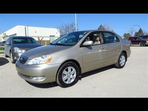 toyota around me 2006 toyota corolla le review start up and walkaround