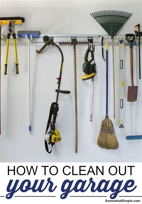 How To Clean Out Your Garage how to clean out your garage somewhat simple