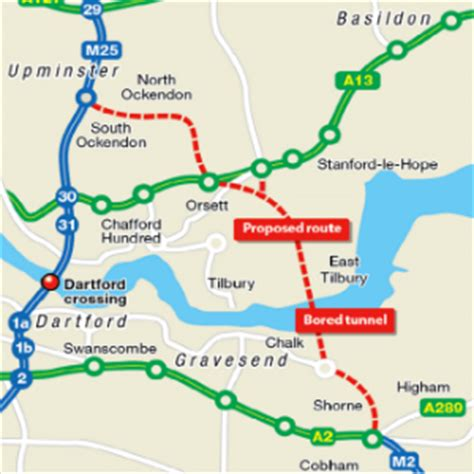 lower thames river map fta urges government to press ahead with new crossing