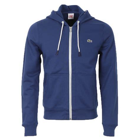 Hoodie Zipper Sweater Lacoste 1 lacoste live sh3745 zip hoodie oxygen clothing