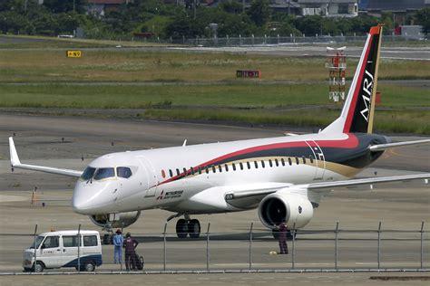 mitsubishi jet japan s passenger jet test flight set for week of