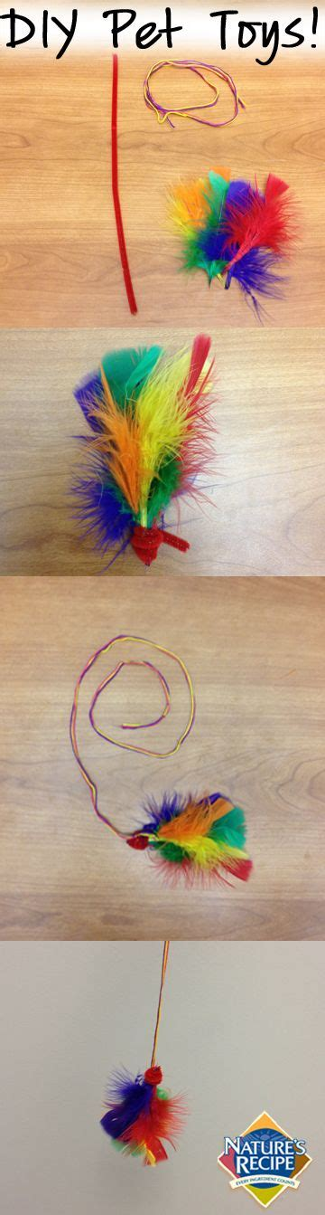 Diy Cat Toys From Marmalade by How To Make A Pipe Cleaner Cat Diy Cat Toys Pet