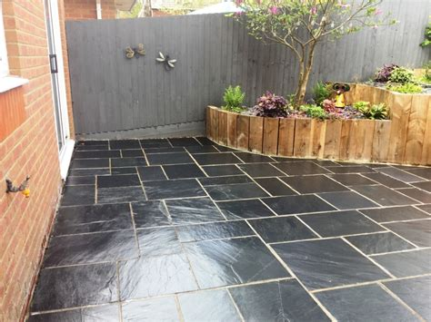 Grouting Patio by Restoring A Riven Slate Patio Suffering From Grout In