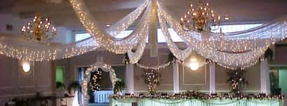 Draped Wedding Arch Fabric Lighted Ceilings Arvay Event Design Amp Rental