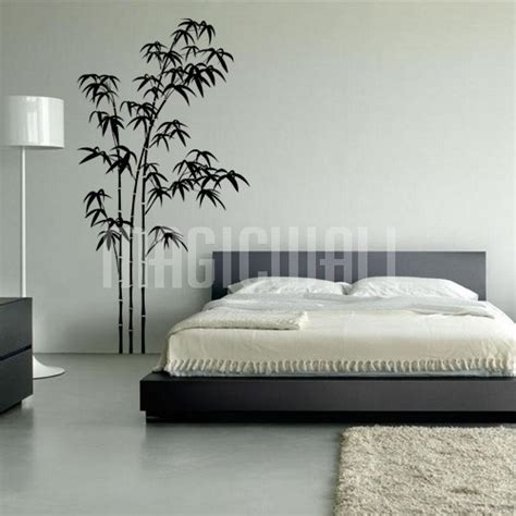 decal stickers for walls wall decals bamboo trees wall stickers
