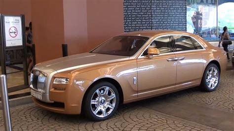rose gold rolls rose gold rolls royce ghost at moe youtube