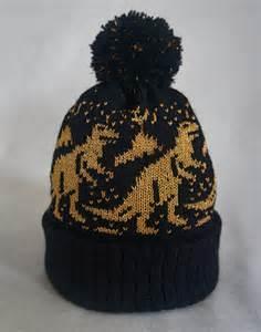 dinosaur knit hat product highlight dinosaur bobble hat by bedroom factory