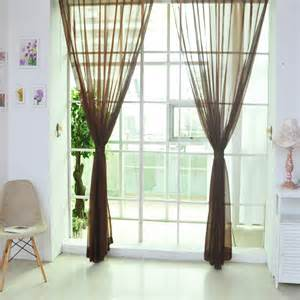 curtain scarf valance new home voile curtain tulle window curtain panel sheer