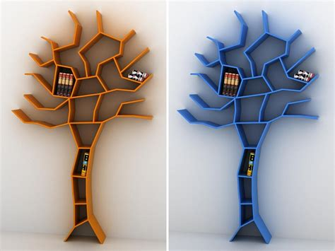 Kitchen Design Sheffield libreria albero tree shaped bookcase fabrico magazine