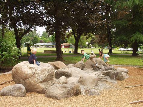 Backyard Play Equipment Great Boulder Garden Playgrounds Pinterest