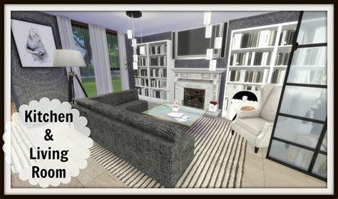sims 4 wohnzimmer sims 4 kitchen living room dinha