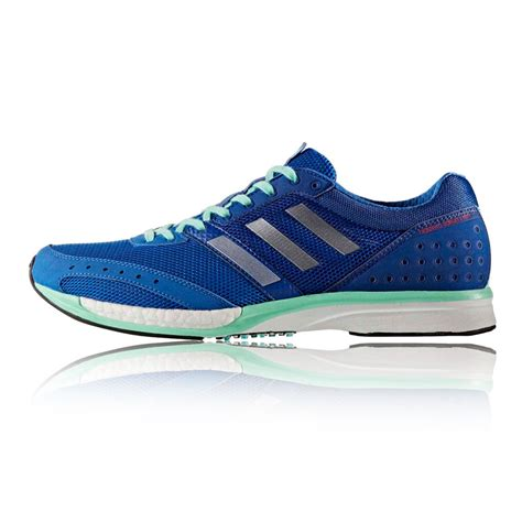 blue sneakers adidas adizero takumi ren mens blue sneakers running shoes
