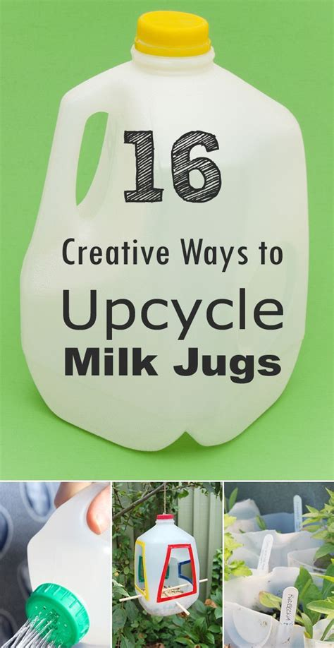 25 ways to upcycle your old stuff easy ideas for 16 creative ways to reuse and upcycle milk jugs milk jug