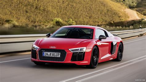 2016 audi r8 wallpaper 2016 audi r8 v10 plus dynamite red front hd