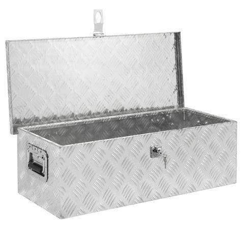 aluminum tool box 30 quot aluminum cer tool box w lock truck bed atv