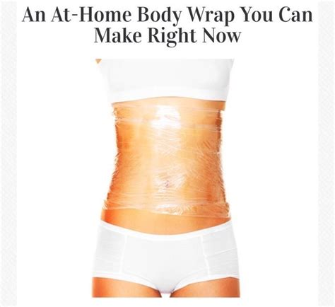 How To Detox Wrap At Home by Drop 10 Pounds In A Week Easy At Home Wrap Health