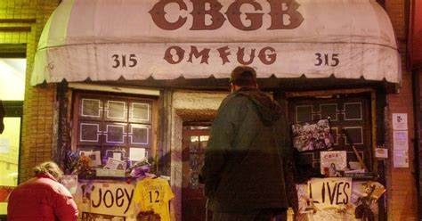 Cbgb Awning by Cbgb Awning Sells At Auction For 30 000 Rolling