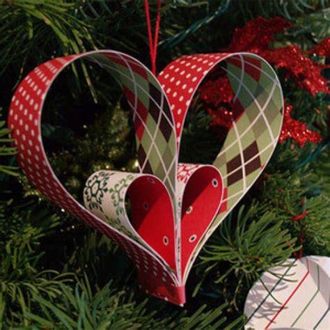 adornos navide 241 os decora tu 225 rbol con corazones de cart 243 n