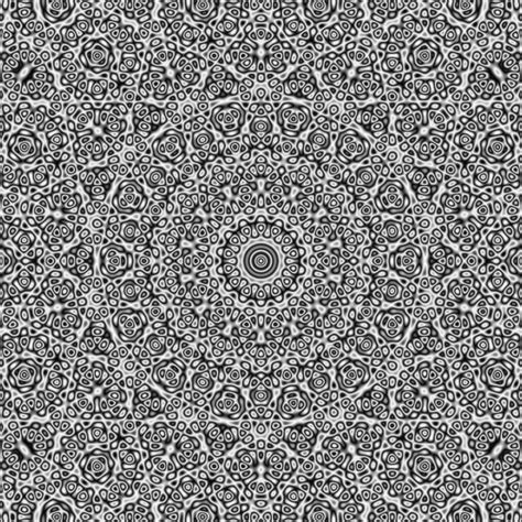 pattern hidden image a hypnotic animation of a quasicrystal that reveals hidden