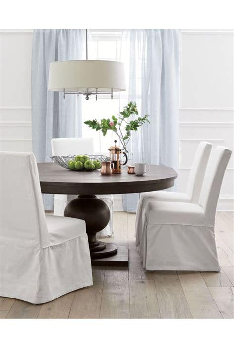 white slipcovered dining chair slip white slipcovered dining chair crates dining