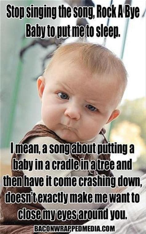Rock Baby Meme - rock a bye baby bits and pieces