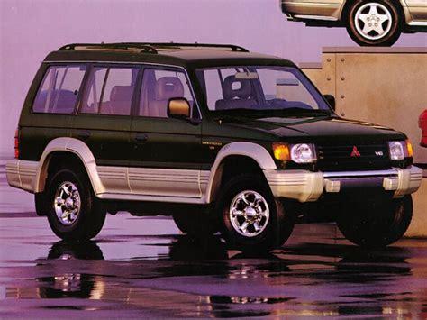 1992 mitsubishi montero specs safety rating mpg carsdirect