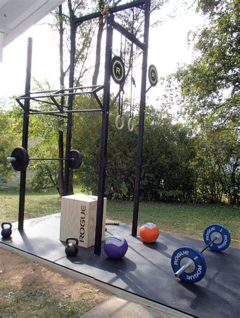 outdoor crossfit building a home