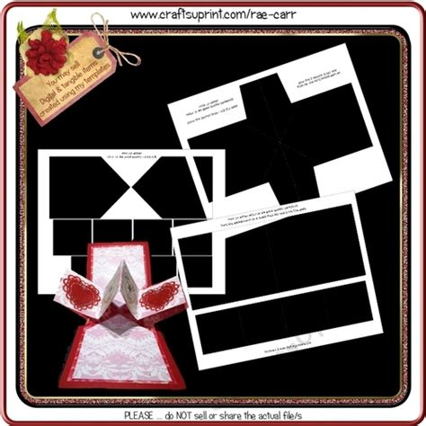 twist and pop card template t046 twist and pop up template cup768696 1415 craftsuprint