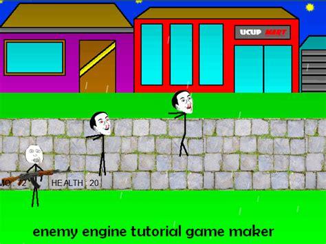 membuat game engine membuat enemy engine di game maker