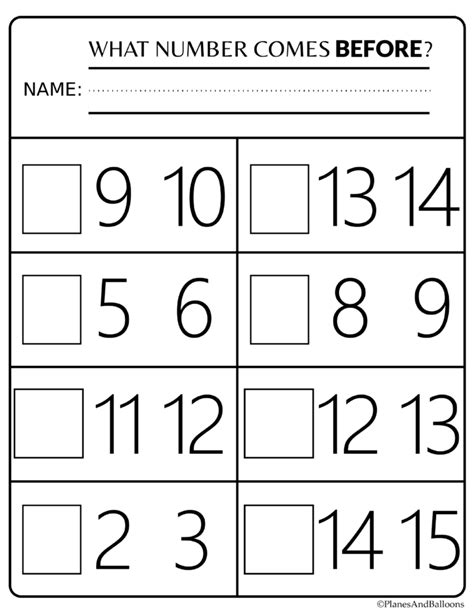 printable numbers kindergarten number order kindergarten free printable worksheets