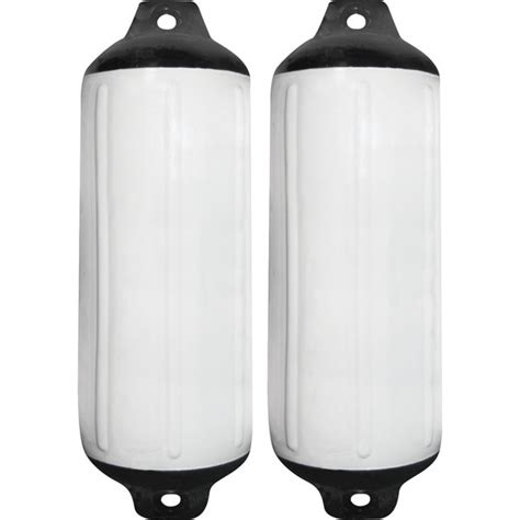taylor made super gard fender 2 pack white west marine - Boat Fenders Costco
