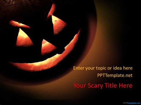 free halloween powerpoint templates ppt slide designs