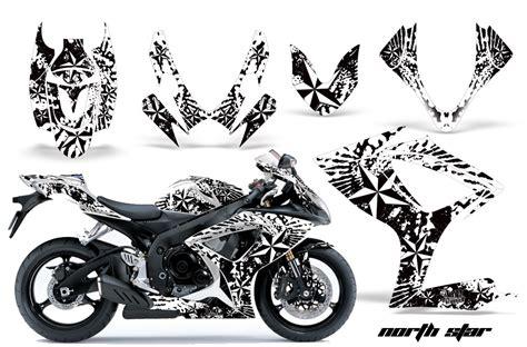 Suzuki Gsxr 600 Decals 2006 2007 Suzuki Gsx R600 R750 Bike Graphic Decal