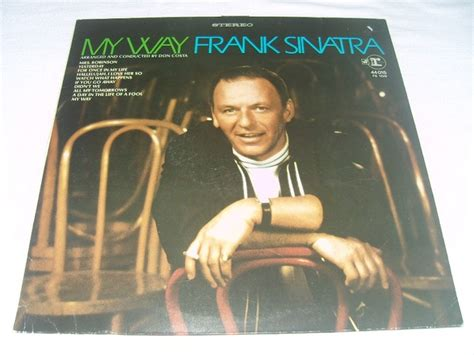 Records Germany Frank Sinatra My Way Vinyl Lp Album Reprise Records Germany Catawiki