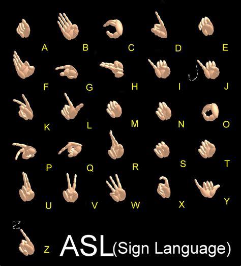 in sign language sign language