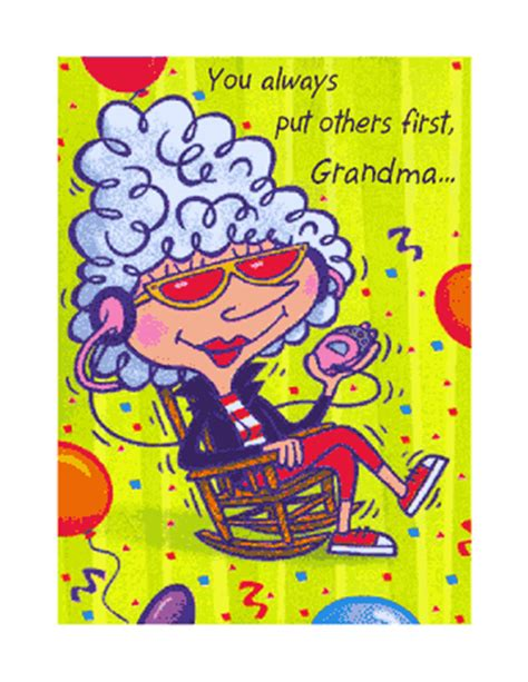 printable birthday cards for grandma quot relax and enjoy grandma quot birthday printable card