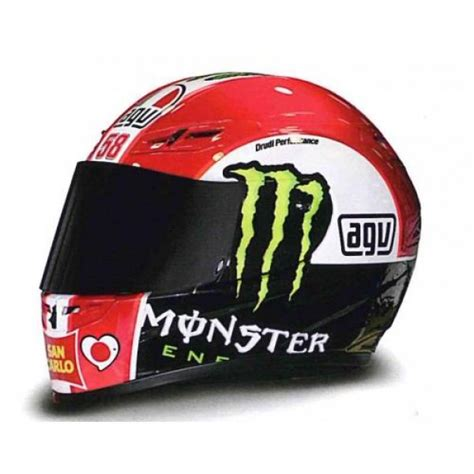 Helm Agv Marco Simoncelli agv helmet marco simoncelli motogp 2011 in 1 2 scale by