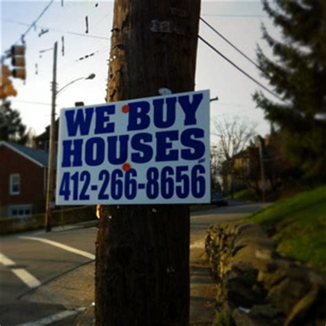 buy house sign what s the deal with those we buy houses signs resource center