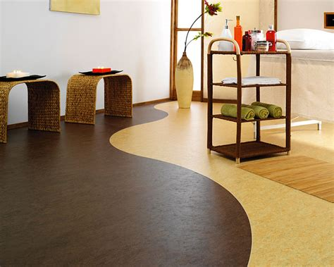 pavimento in linoleum pavimento in linoleum 20 modelli ecologici resistenti e
