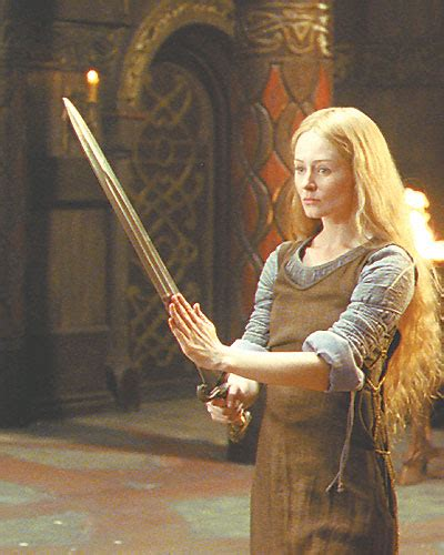 warrior princess eowyn of rohan my favorite dialogue