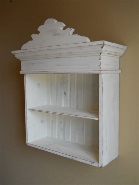 distressed white cabinet bathroom cabinet kitchen cabinet hanging wall cabinet shabby chic