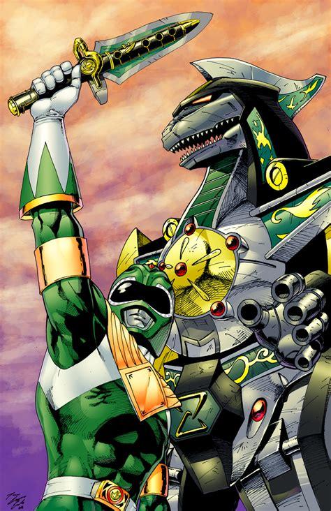 dragonzord tattoo green ranger vs white ranger sentairider