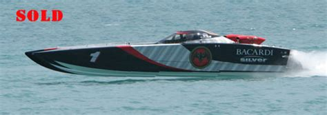 bacardi silver boat dave scott s offshore racing record breaking tour