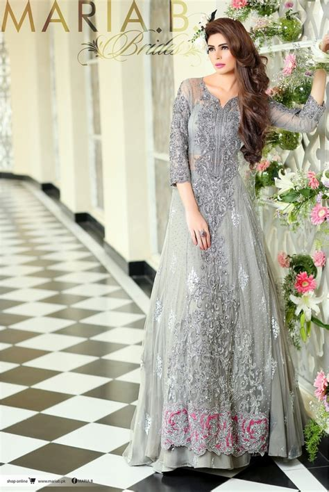 maria b bridal collection wedding and formal dresses colorful embroidered frocks for girls fashion pakistan pakistani designer bridal dresses maria b brides 2018 2019