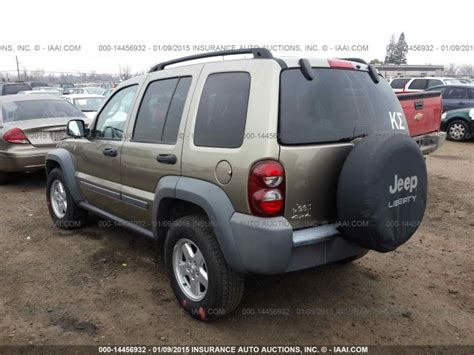 2006 Jeep Liberty Parts Used Parts 2006 Jeep Liberty 4x4 3 7l V6 42rle Automatic